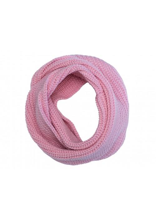 Шарф-снуд HATTY (54см) Розовый (Снуд 4д)